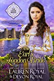 The Earl's London Bride: A Sweet & Clean Historical Romance (The Chase Brides Book 1)