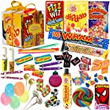 The Original Retro Sweets Candy Gift Box from Dandy Candy - The Perfect Gift For Fathers Day or Anyone: Includes Over 100 Retro Sweets From Your Childhood Memories