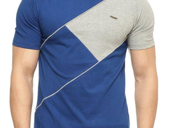 Gritstones Half Sleeve Round Neck T Shirt GSHSTSHT1317INDGM