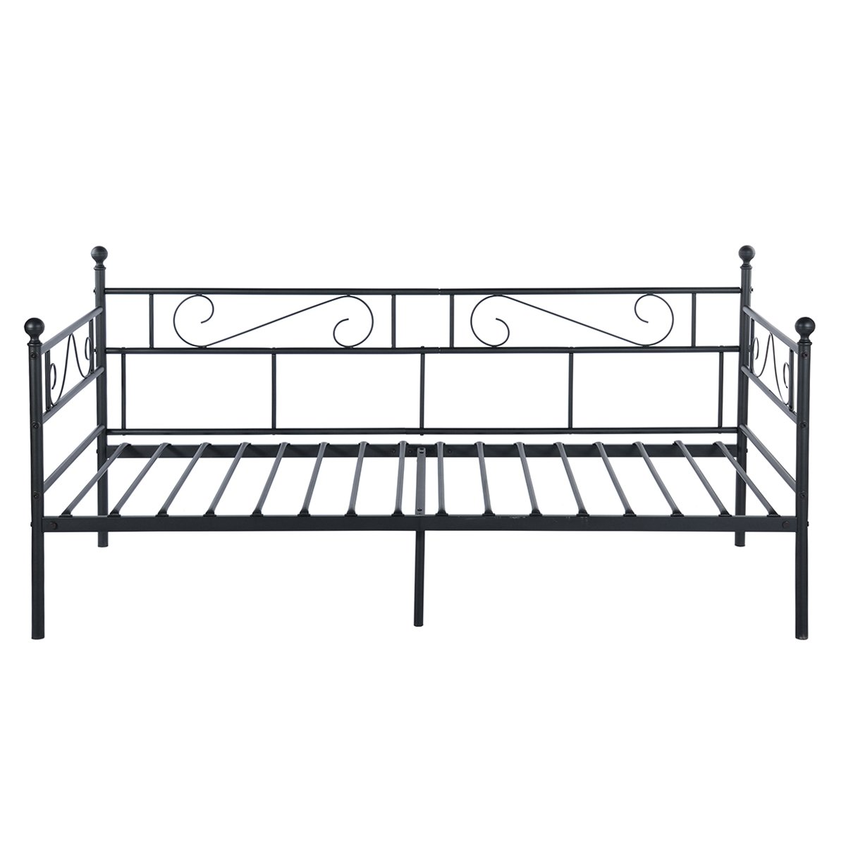 Greenforest Daybed Twin Bed Frame With Headboard And