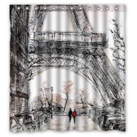 Eco-friendly Abstract Watercolor Vintage Paris Eiffel ...