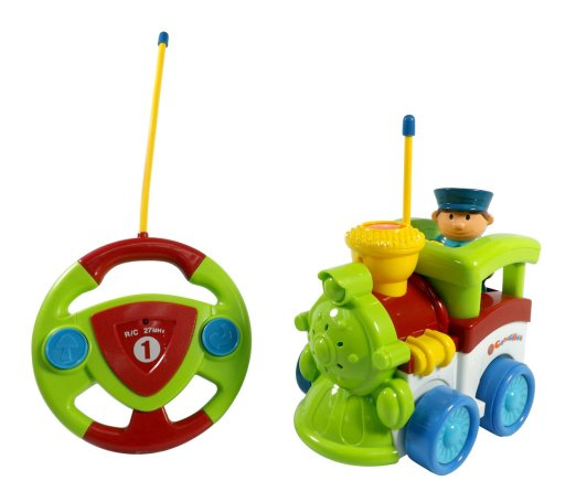 Remote control train for toddler