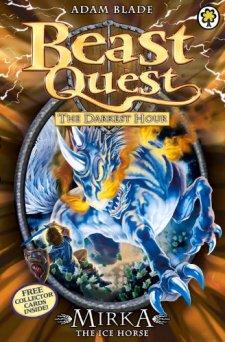 The Darkest Hour Series 12: Mirka the Ice Horse (Beast Quest) by Adam Blade| wearewordnerds.com