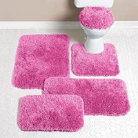 24 Original Pink Bath Rugs