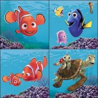 Blue Mountain Wallcoverings 31720450 Finding Nemo 4-Piece ...
