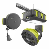 Ryobi GD200 Ultra-Quiet Garage Door Opener with GDM330 ...