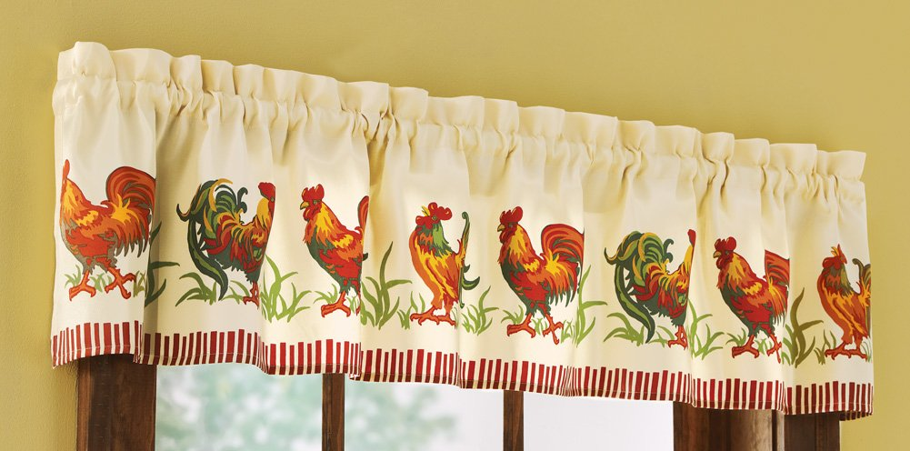 rooster rugs for kitchen high top table sets curtains shop - everything log homes