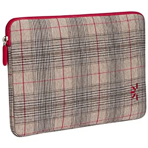 "Case Logic Kindle DX Sleeve (Fits 9.7"" Display, Latest and 2nd Generation Kindles), Red Plaid"