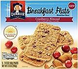 QUAKER Breakfast Flats, Cranberry Almond, 7 Ounce