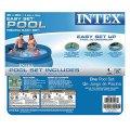Intex 8ft x 30in easy set pool set unisex adult 8 feet by 30 inch