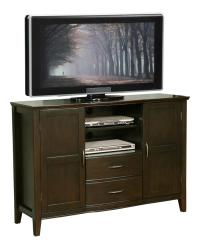 "Amazon.com - Simpli Home Williamsburg Tall TV Stand, 52""W ..."