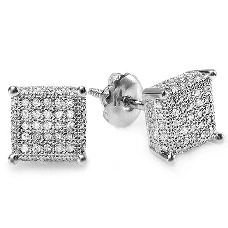 Black And White Diamond Earrings For Men ImagesJust