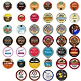 40-count Coffee & Flavored Coffee Single Serve Cups For Keurig K Cup Brewers Variety Pack Sampler