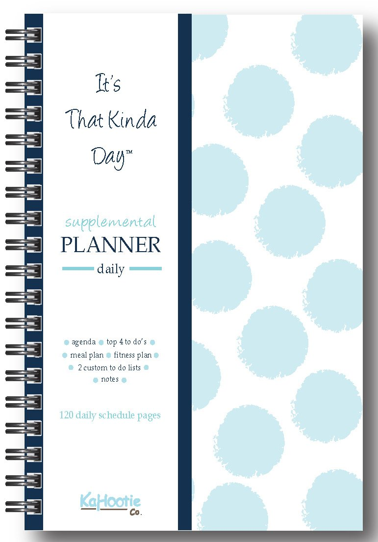 it's that kinda day planner