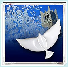 Dove balloons are eco friendly and the perfect solution for your event at your party, wedding, birthday and more. These huge white balloons are biodegradable and can float in the sky for more than 20 hours with helium. Special Bonus E-book !