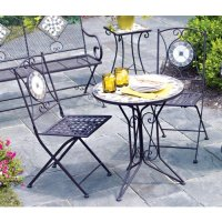 Patio Sets Clearance: Living Accents Slate Bistro 3 Piece