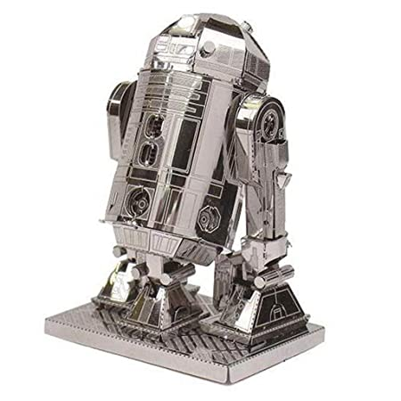 Metal Earth 3D Laser Cut Model - 4 Star War in Set: R2-D2, Millennium Falcon, At-At and TIE Fighter