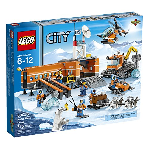 LEGO City Arctic Base Camp 60036 Building Toy