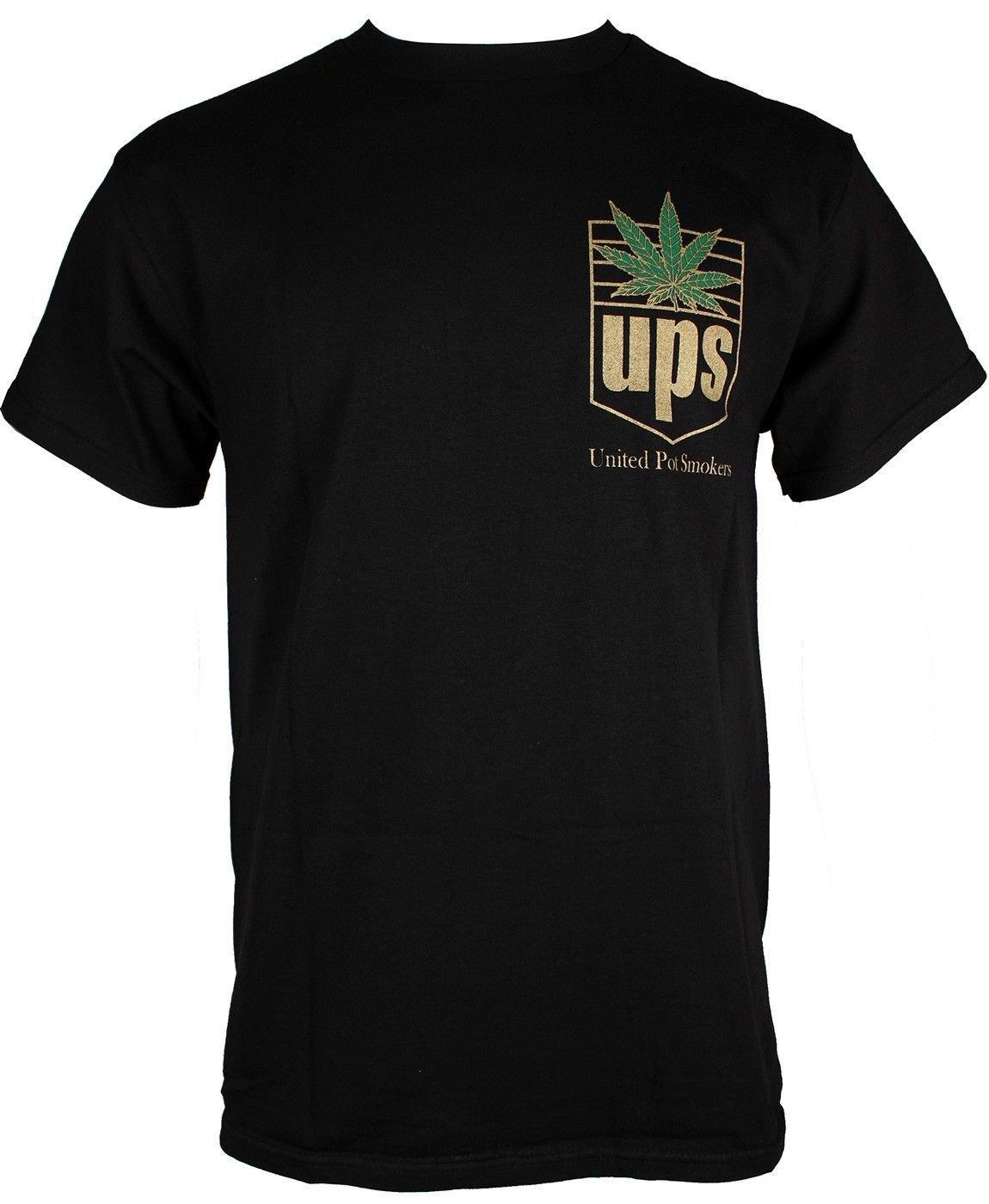 Private Label Men's California Cannabis Marijuana Parody Weed Lover T-Shirt