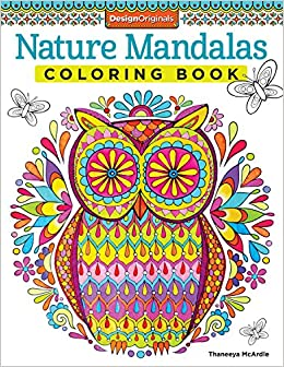 Nature Mandalas Coloring Book (Design Originals): Thaneeya
