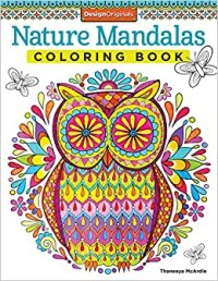 Nature Mandalas Coloring Book (Design Originals): Thaneeya ...