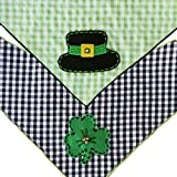 St. Patrick's Day Dog Bandana 2 Pack (Medium)