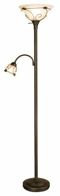 Side Lighting Incandescent Floor Lamp Halogen Bulb Home ...
