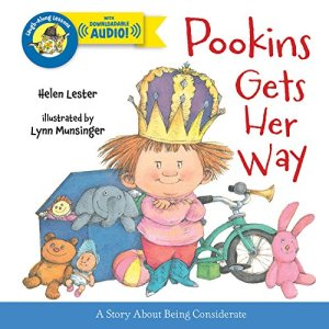 Pookins Gets Her Way (Laugh-Along Lessons) by Helen Lester | Featured Book of the Day | wearewordnerds.com