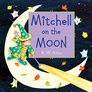 Mitchell on the Moon by R. W. Alley | Featured Book of the Day | wearewordnerds.com