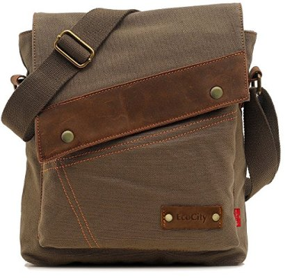 EcoCity-Mens-Womens-Vintage-Canvas-Crosssbody-Bags-Messenger-Bag-Shoulder-Bags-MB0002A4-Army-green