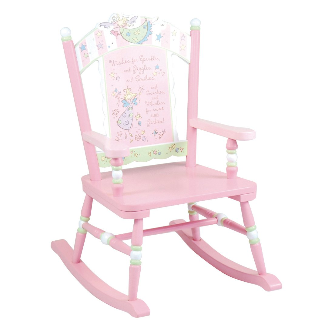 personalized little kid chair eddie bauer high pad kids wooden rocking  fel7