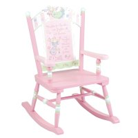 Kids Wooden Rocking Chair  fel7.com