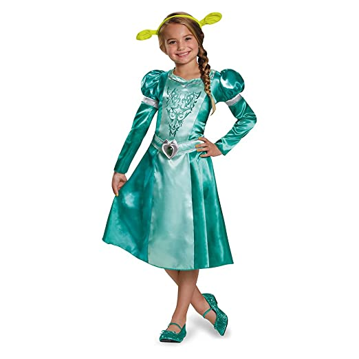 Disguise Fiona Classic Costume, Medium (7-8)