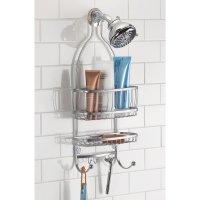 Hanging Shower Head Caddy Bathroom Storage Shelves Rack ...