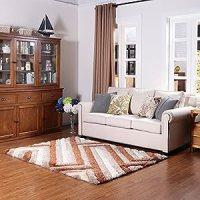 Amazon.com: Ustide Simple Contemporary Design Area Rug for ...
