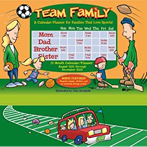Team Family 2012 Wall Planner (calendar)