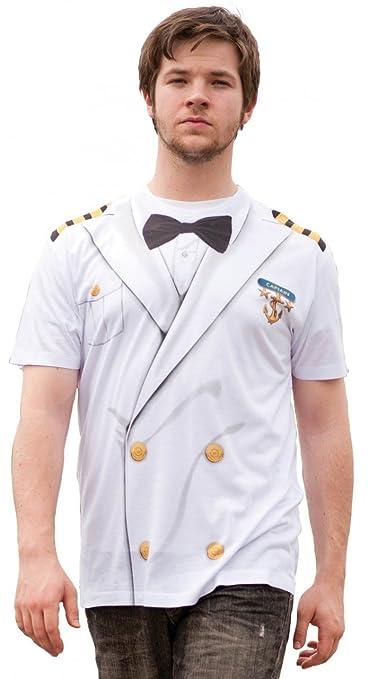 Captain T-Shirt Costume 2XL