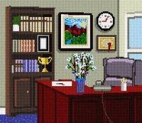 Office Space Needlepoint Kit Check Price - Polycarpjkaslov