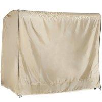 Abba Patio Outdoor/Veranda 3 Triple Seater Hammock Canopy