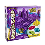 Kinetic Sand Sand Box & Molds Activity Set, Purple