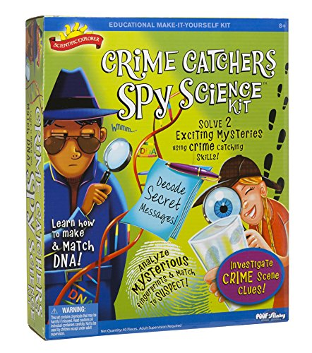 Scientific Explorer Crime Catchers Spy Science Kit for kids