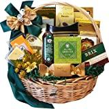 Art of Appreciation Gift Baskets Well Stocked Gourmet Basket with Smoked Salmon