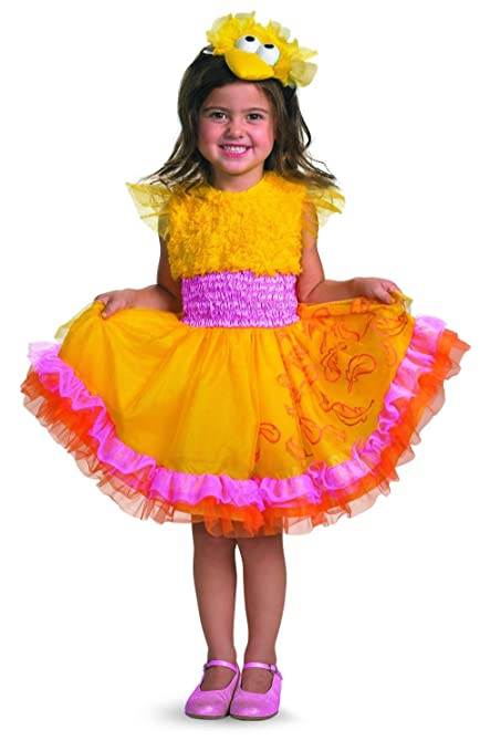 Frilly Big Bird Costume - Small (2T)