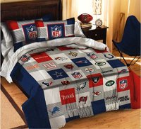NFL All Teams Football Sports Bedding 6 Piece Twin Size ...