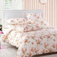 Sisbay Girls Vintage Floral Bedding,Rural Red Rose Garden ...