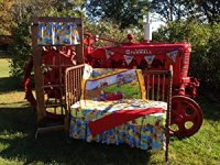 Amazon.com : IH Tractor Mac Nursery Crib Bedding Set ...