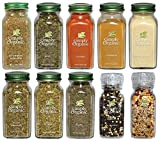 Simply Organic, Basics Gourmet Spices Set