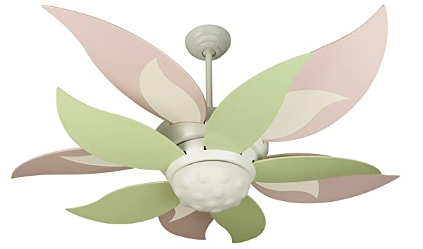 Craftmade BL52W-BBL52GRN 52-Inch Bloom Fan