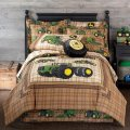 Best offer boys bedding john deere tractor and plaid at jcpenney