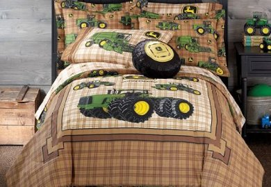 Boys Plaid Bedding